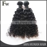 Curly hair extension for black women vagina human hair short jerry curl weave hairstyles