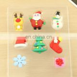 Christmas Eraser Assortment set of 6