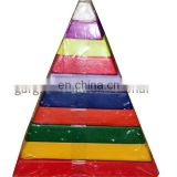 Colourful Pyramid