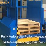 Factory Direct Sales Automatic Pallet Stacker/In-line Auto Pallet Dispenser & Collector/Pallet Stacking Machine