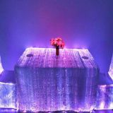 7 Colors RGB LED Light up Fiber Optic Table Cloth