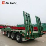 3 axles excavator transport lowbed lowboy semi trailers