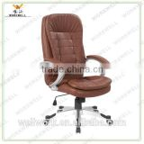 WorkWell brown genuine leather office chair Kw-m7095hb