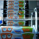 HAS VIDEO Roll Feeding Flexo Paper Bag Paper Cup Printing Machine