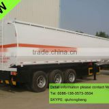 China carbon steel 40000-60000L 3 axles fuel tanker semi trailer with bpw axle 0086-13635733504