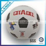 custom print nature rubber football soccer ball                                                                         Quality Choice