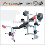 Foldable weight bench WB2307C