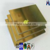 acp aluminium composite panel cladding sheet/flexible mirror material