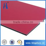 brush finish aluminum plastic composite panel aluminum compoite sheet manufacturer jiangsu