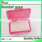 Dental Orthodontic Color Wax Orthodontic Dental Wax Dental Manufacturer