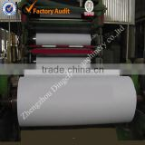 Copy Paper Making Machine Using Wheat Straw Bales as Raw Material