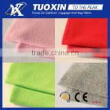 Pure loving heart design good quality 100% polyester knit polar fleece/fleece fabric textile fabric