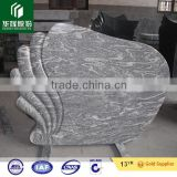 cheap chinese grey granie headstone, China Juparana granite monument