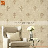 fashion royal flower damascus design wallpaper design