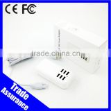 High Quality 5V 4A 6 USB Port USB Wall Power Adaptor Charger