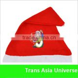 High Quality Custom Red Felt Christmas Hats
