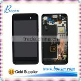 Original New Repair Parts for Blackberry Z10 LCD Assembly with Middle Frame Black