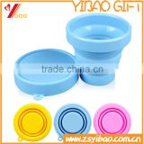 Colorful Silicone Drinking Cup / Convenient Travel Water Cup