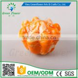 Greenflower 2016 Wholesale artificial fruit little Pumpkin China handmake forma fruit for school resturant decoration