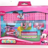 OEM--17PCS MINNIE HAIR ACCESSORIES SET(HAIRBAND,HAIR ELASTIC,HAIR CLIP,HAIR PONY)