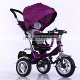 New Design adjusted backrest alloy frame baby stroller /Comfortable 3 in 1 Fuctions Deluxe Reversing baby stroller