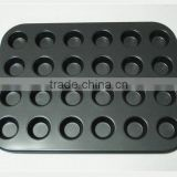 0.4mm 0.5mm thickness 24 cups Muffin Cup Cake Baking Mold bakeware