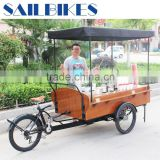 fast food tricycle coffee vending cart coffee bike