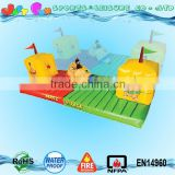 outdoor inflatable interactive games mass-attack, bungee run n wrestling combo sports game for kids n adults