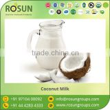 100% Fresh Organic Coconut Milk at Lowest Market Price