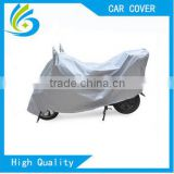 silver coating good quality customize waterproof Motorcycle Cover