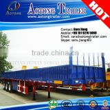 50tons bulk cargo transport container semi trailer with curtain side