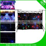 hot starry sky lighting fiber optic led star curtain