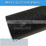 Removable Glue Glitter Black Musical Instruments Body Sicker Wrap Vinyl