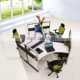 office partiton M4 new standard sizes for 3 person / workstation furniture and glass office dividers                                                                         Quality Choice