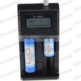 Factory outlet! polysilicon solar battery charger 18650 26650 Nimh/Lifepo4 battery charger