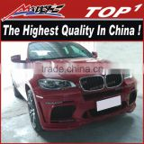 2010-2013 KITS for bmw x6 for X6M body kit the highest quality PU/Carbon Fiber Body Kits for BMW X6