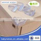 enviromental PVC transparent baby safety guards pvc plastic transparent Corner Protector/baby protector