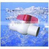 Factory wholesale pvc water pressure reducing valve Slip PVC agricultural Ball Valve