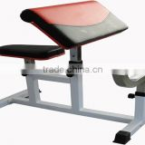 Porable biceps curl gym fitness equipment commercial Gym Use Preacher Curl Bench