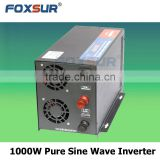 12V DC TO 110V Factory price good performance pure sine wave 1000W automatic inverter charger