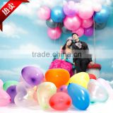 10'' 1.5g pearl heart shape latex balloons for party decoration