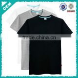 O Neck Cotton Basic T Shirts/Blank 100 Cotton T Shirts/Import Blank T Shirts (lyt010073)