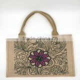 natural jute hand length handle bag hand made jute bags                                                                                                         Supplier's Choice