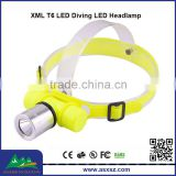 920 lm 1xCREE XML T6 LED Diving Headlamp Outdoor Waterproof High Lumens Headlamp