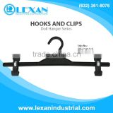 "PH2015 - 15"" Plastic Hanger with Plastic Hook for Bottoms, Pants, Skirts, Shorts (Philippines)"