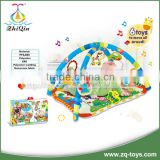 New indoor activity baby gym mat with hanging toys