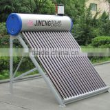 20 Tubes Acero Inoxidable Compact Non-Pressurized Solar Geyser With Water Automatically Small Tank