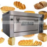 CE Western-style Bread Pizza baking Oven with steam, microcomputer control Electric bakery Oven with Ceramic Stone