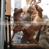 life size horse statues, marble statue (customized accept)