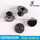 Top Quality garment custom magnetic 3.5g bulk metal jeans button